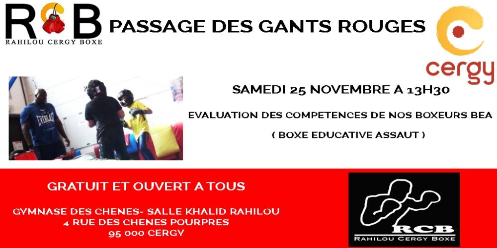 gant rouge 25 11 2017
